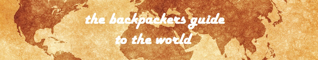 the backpackers guide to the world